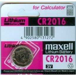 CR2016  Maxell 3.0V
