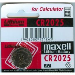 CR2025 Maxell 3.0V