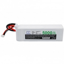 5000mAh 55.50Wh Li-Polymer...