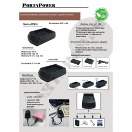 Fuji NP-60 ładowarka USB z...