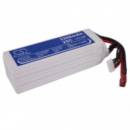3300mAh 73.26Wh Li-Polymer...