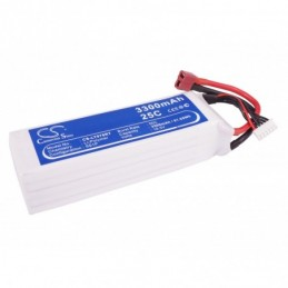 3300mAh 61.05Wh Li-Polymer...