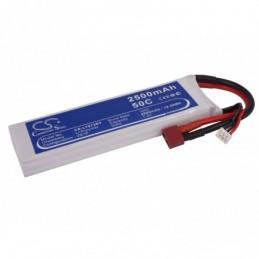 2500mAh 18.50Wh Li-Polymer...