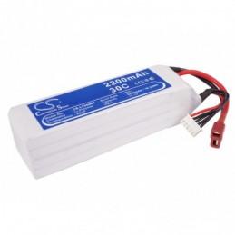 2200mAh 32.56Wh Li-Polymer...