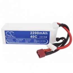 2200mAh 40.70Wh Li-Polymer...