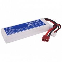 2200mAh 16.28Wh Li-Polymer...