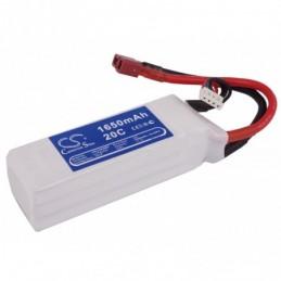 1650mAh 18.32Wh Li-Polymer...