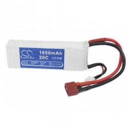1650mAh 12.21Wh Li-Polymer...