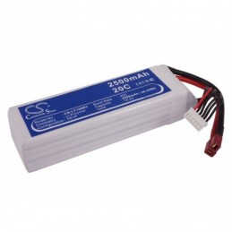 2500mAh 46.25Wh Li-Polymer...