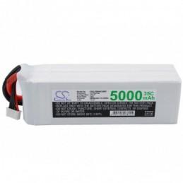 5000mAh 74.00Wh Li-Polymer...