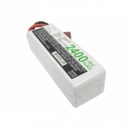 2400mAh 35.52Wh Li-Polymer...