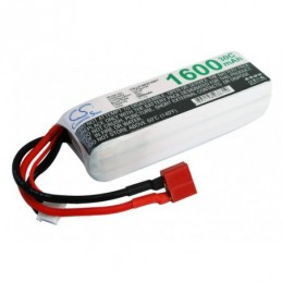 1600mAh 17.76Wh Li-Polymer...