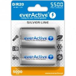 2x everActive R20/D Ni-MH...