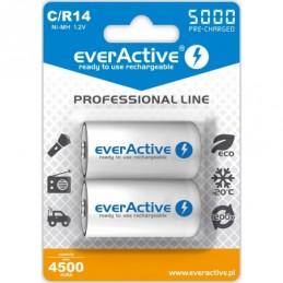 2x everActive R14/C Ni-MH...