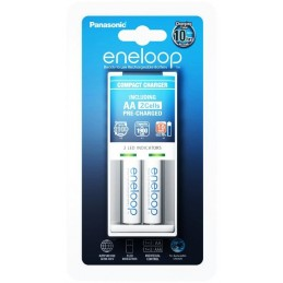 Panasonic Eneloop BQ-CC50 +...